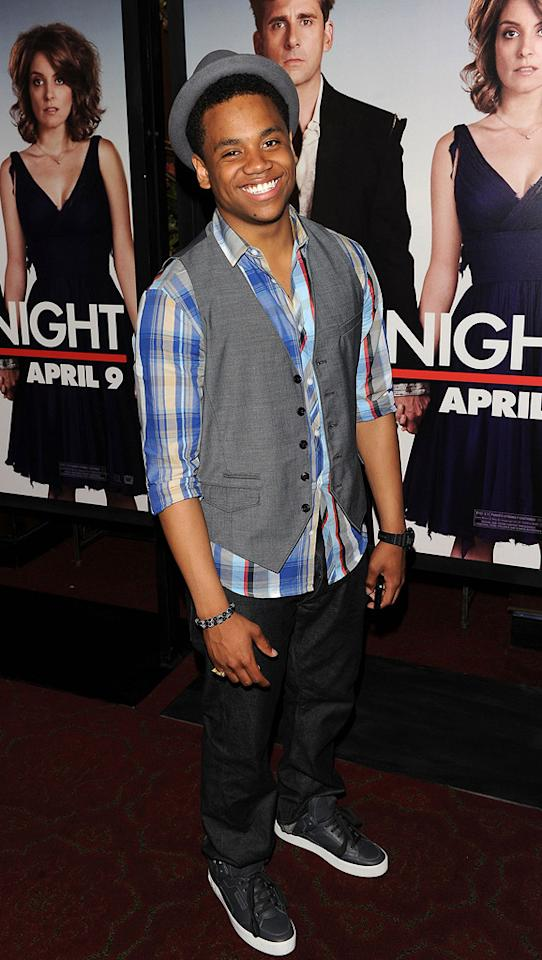 """<a href=""""http://movies.yahoo.com/movie/contributor/1809742981"""">Tristan Wilds</a> at the New York City premiere of <a href=""""http://movies.yahoo.com/movie/1810080154/info"""">Date Night</a> - 04/06/2010"""