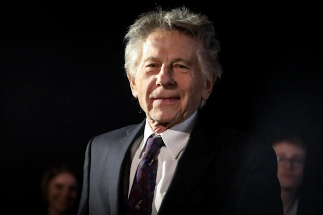Roman Polanski before a screening of 'An Officer and a Spy' during the Cinergia Film Festival (Getty)