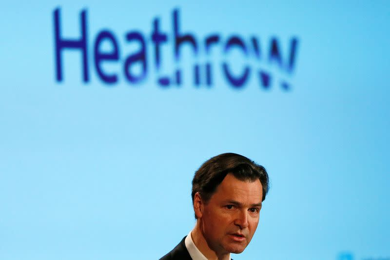 UK risks destroying aviation industry with no support - Heathrow boss