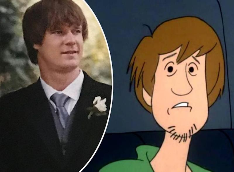 Comparison: Dean and Shaggy from Scooby Do. Source: Instagram / Cartoon Network
