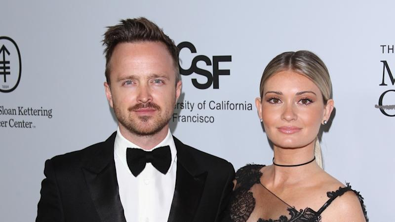 Aaron Paul and Wife Lauren Welcome First Child -- See the Pics!