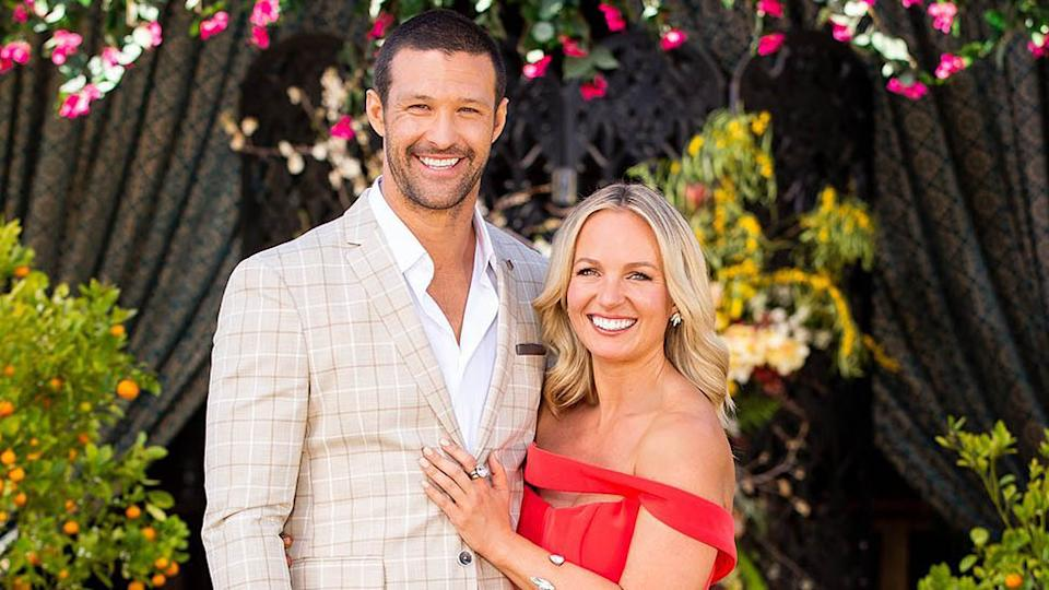 The Bachelorette's Pete Mann has moved on after splitting with Becky Miles three days after filming the show's finale. Photo: Ten