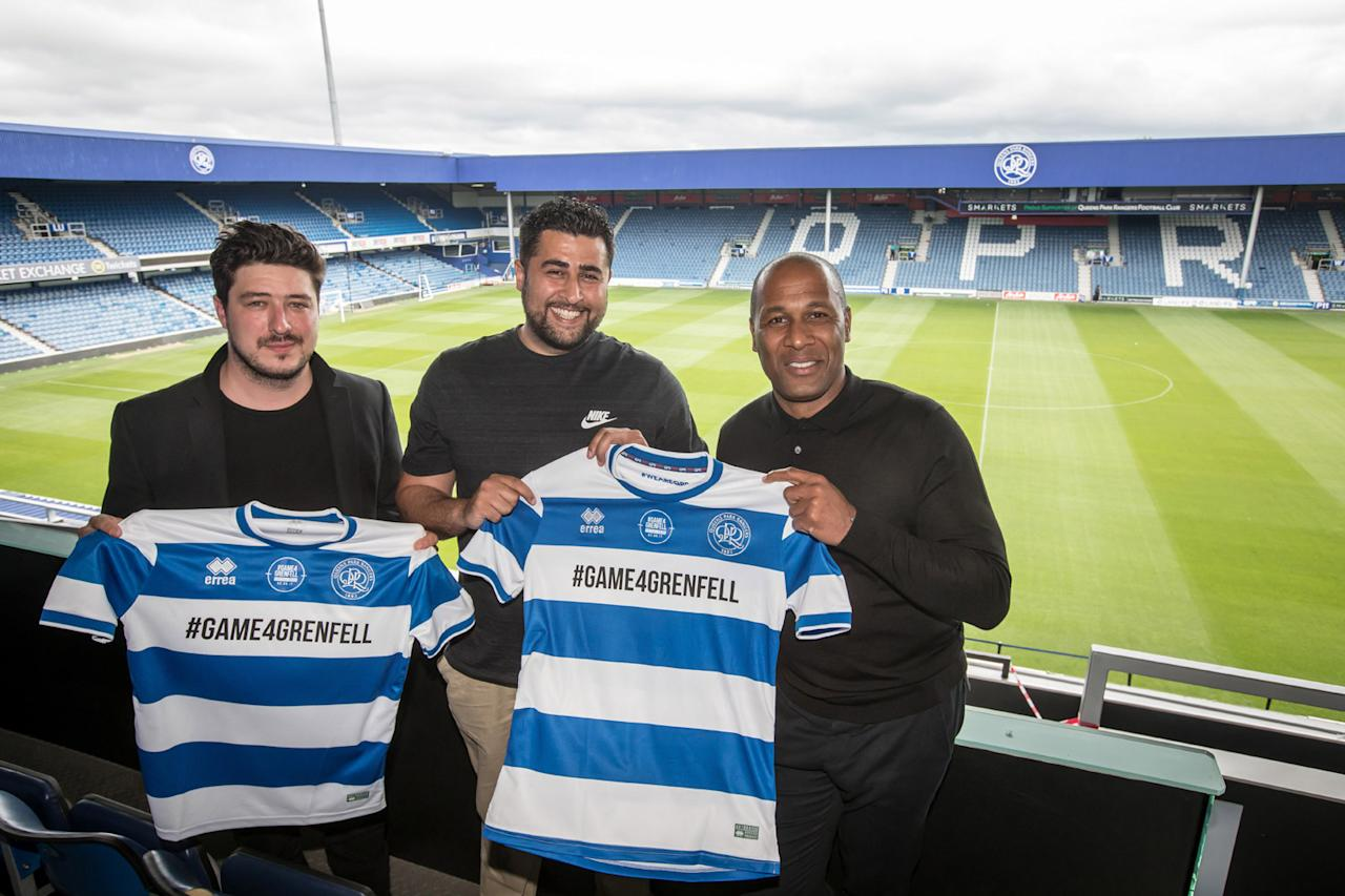 QPR to host charity match to raise money for Grenfell Tower victims