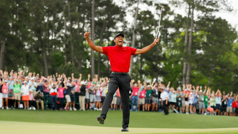 Woods: I was determined to win for my kids at Augusta