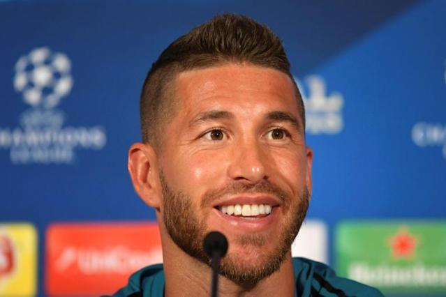Real Madrid's Sergio Ramos won the Euro 2012 final with Spain in Kiev