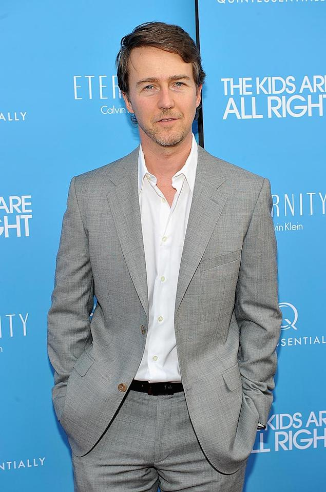 """Several celebs celebrate birthdays on August 18, including Oscar nominee Edward Norton. He'll be 41. Theo Wargo/<a href=""""http://www.wireimage.com"""" target=""""new"""">WireImage.com</a> - June 30, 2010"""