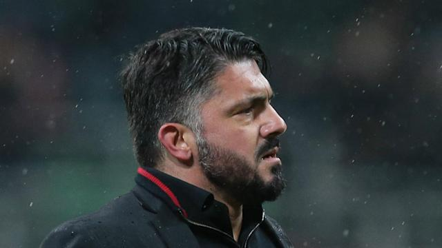 Despite AC Milan sitting closer to Serie A's relegation zone than Champions League qualification, Gennaro Gattuso is targeting the top four.