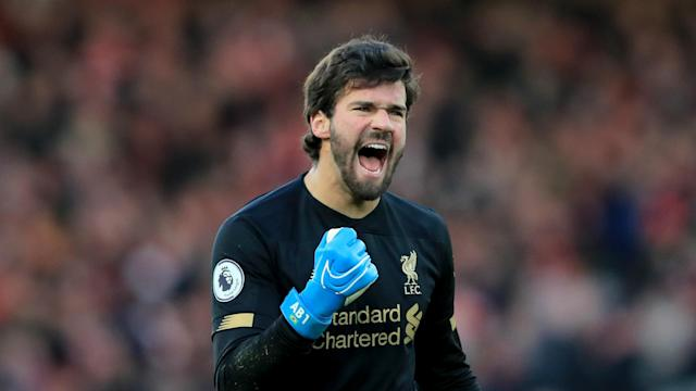 Liverpool's Alisson is the inaugural winner of the Yachine Trophy, awarded to the best goalkeeper in world football over the past 12 months.