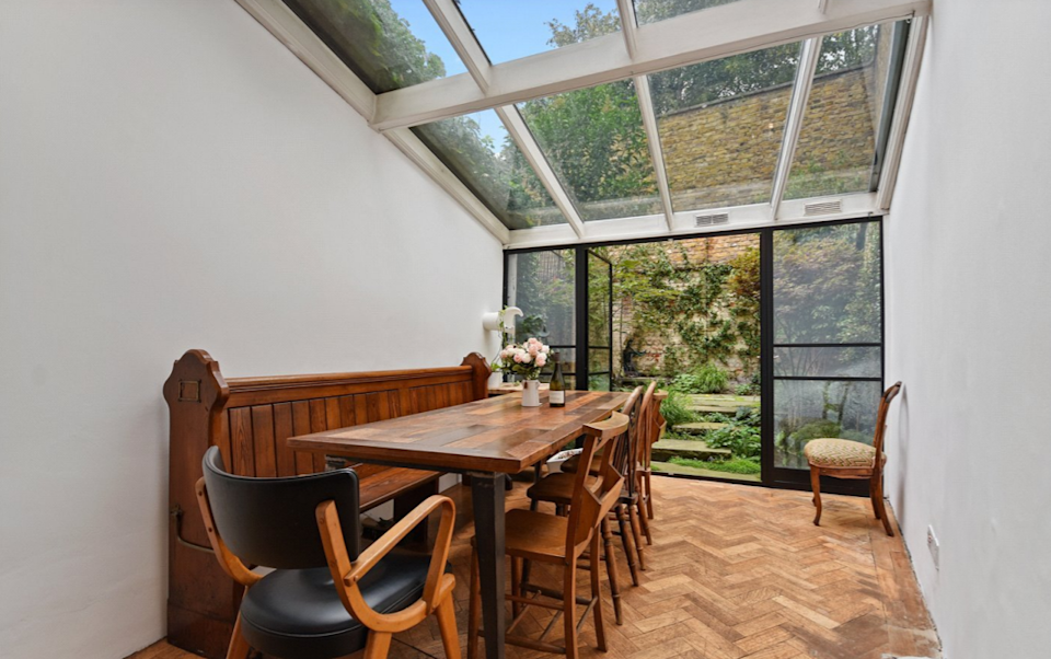 The property is six-feet wide. Photo: Winkworth