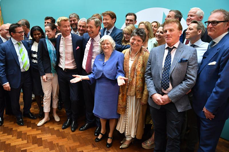 The Brexit Party enjoyed huge success in the European Parliament elections (Picture: PA)