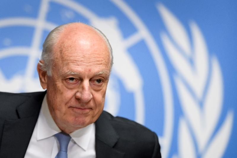 "UN Special Envoy for Syria Staffan de Mistura told the Security Council that ""important gaps remain between the parties on major issues"" following the sixth round of peace talks in Geneva last week"