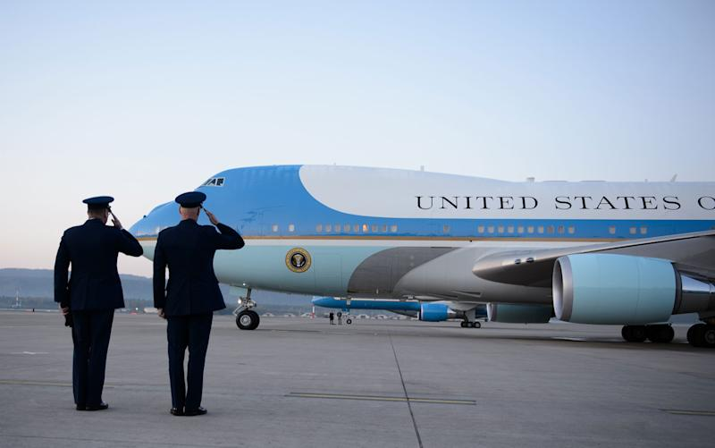 Trump, Boeing finalize deal for new Air Force One aircraft