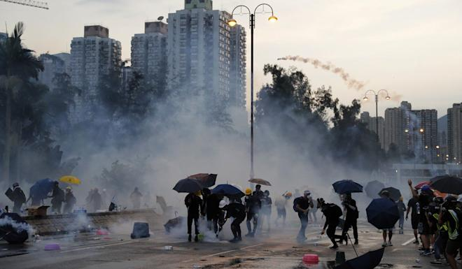 Defend your home against radical protesters, Beijing urges