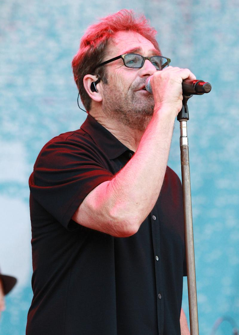 Huey Lewis with Huey Lewis and the News performs during the 2016 Shaky Knees Festival at Centennial Olympic Park on Saturday, May 14, 2016, in Atlanta. (Photo by Robb D. Cohen/Invision/AP)