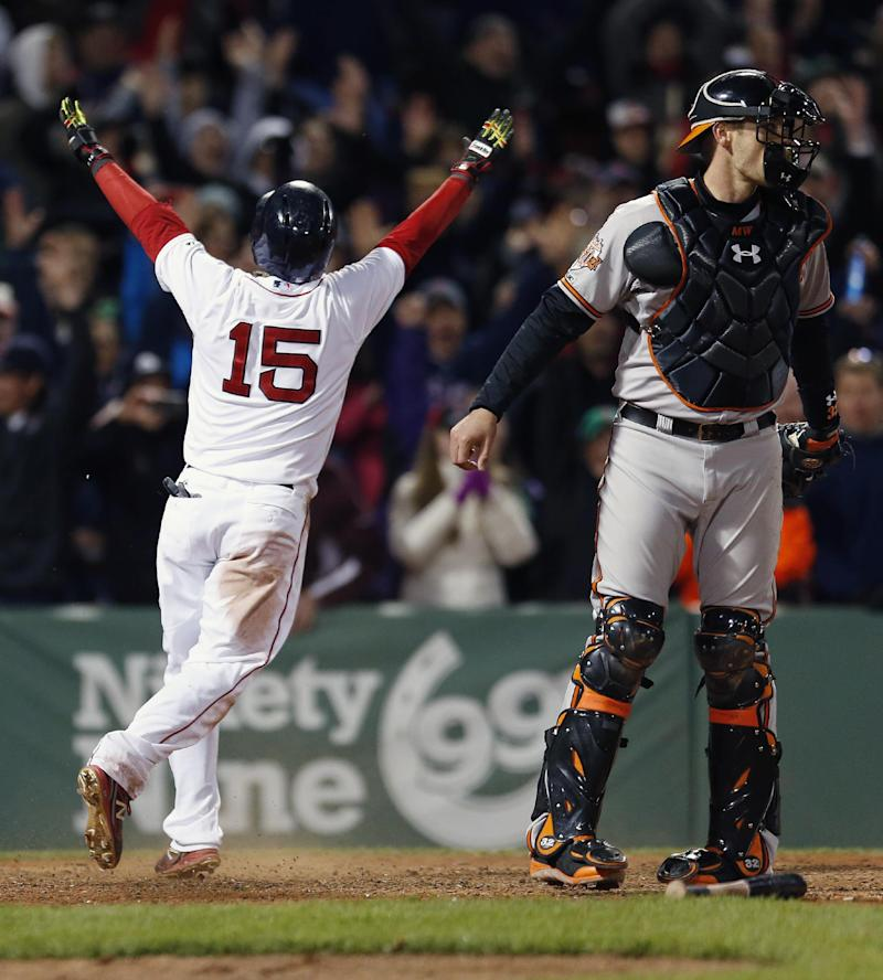 Red Sox rally for 6-5 win over O's