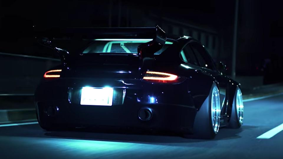 Slant Nose Widebody Porsche 997 Is Absolutely Wicked