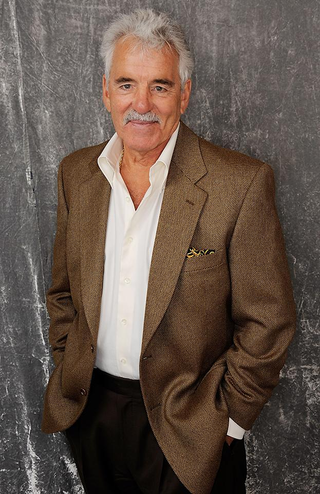 NEW YORK, NY - APRIL 23:  Actor Dennis Farina visits the Tribeca Film Festival 2011 portrait studio on April 23, 2011 in New York City.  (Photo by Larry Busacca/Getty Images for Tribeca Film Festival) *** Local Caption *** Dennis Farina;