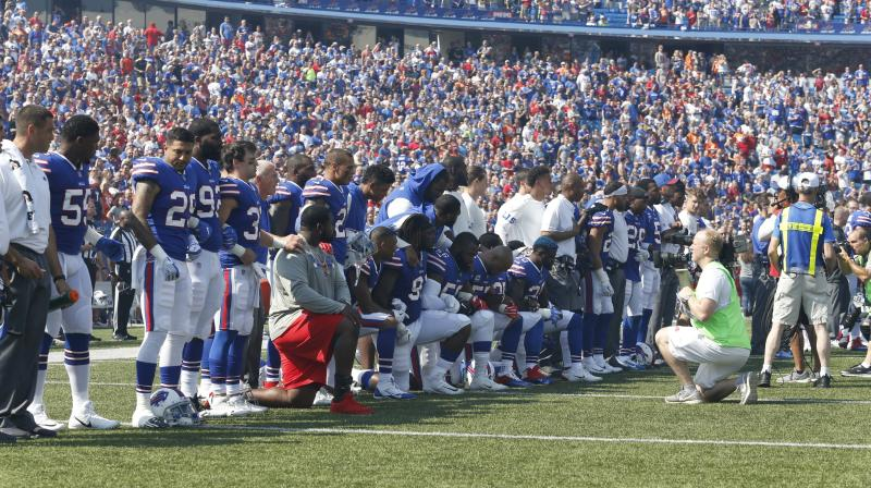 Man 'Pushed To Limit' After NFL Protest, Quits Job At Buffalo Bills Stadium
