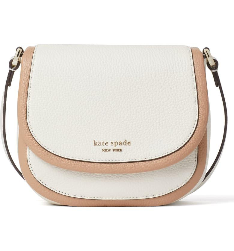 Kate Spade Small Roulette Leather Crossbody Bag