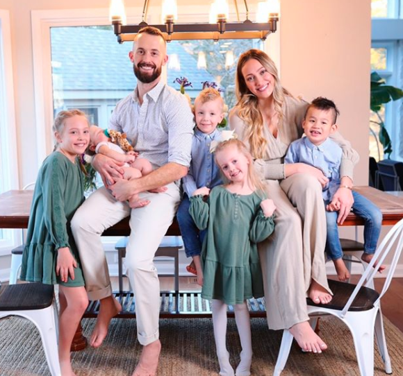 Myka and James were parents to five before their decision in February. Photo: instagram/ mykastauffer