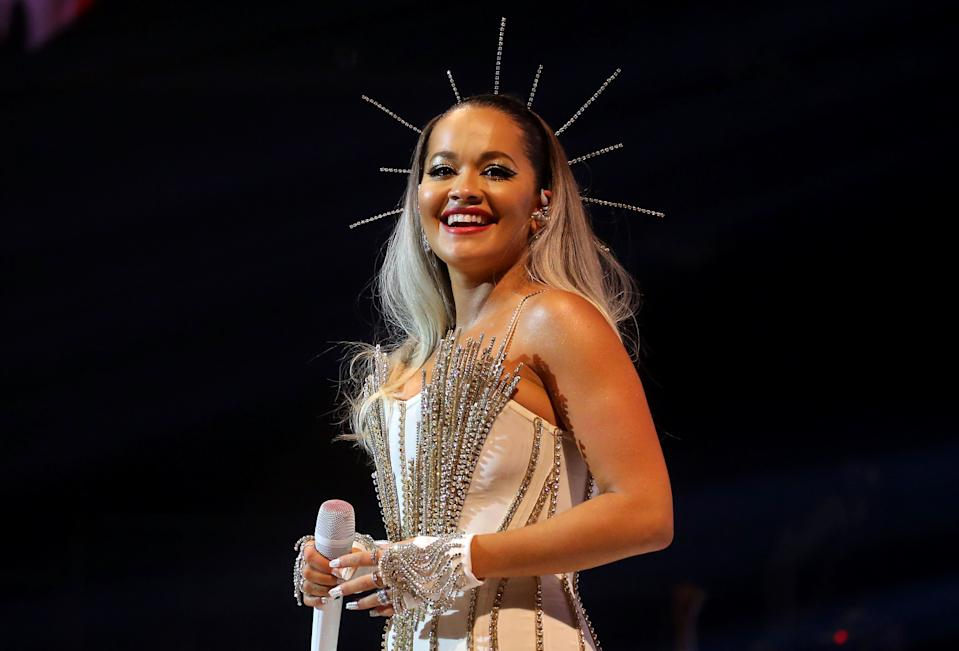 File photo dated 7/12/2019 of Rita Ora who has said she is