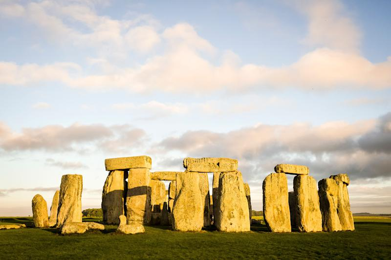 File photo dated 16/09/15 of Stonehenge in Wiltshire. A missing piece of one of the huge sarsen stones at Stonehenge which was removed 60 years ago has been returned to the ancient monument, English Heritage said.