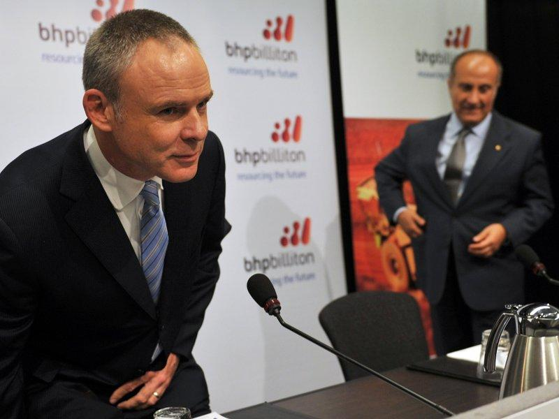Nasser talks about BHP CEO succession