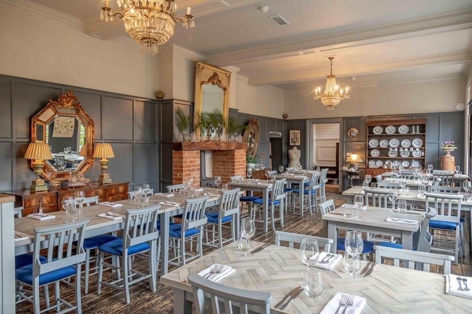 """<p>This Georgian manor oozes boutique vibes, with its high-style interiors showcasing a flamboyant design eye; minimalist this is not. One of the <a href=""""https://go.redirectingat.com?id=127X1599956&url=https%3A%2F%2Fwww.booking.com%2Fhotel%2Fgb%2Fthe-dial-house-norwich.en-gb.html%3Faid%3D2070929%26label%3Ddog-friendly-norfolk&sref=https%3A%2F%2Fwww.redonline.co.uk%2Ftravel%2Finspiration%2Fg34450137%2Fdog-friendly-hotels-norfolk%2F"""" rel=""""nofollow noopener"""" target=""""_blank"""" data-ylk=""""slk:Dial House"""" class=""""link rapid-noclick-resp"""">Dial House</a>'s bold bedrooms, The Print Room, is dog-friendly and canine companions are also welcome in some of the public rooms.</p><p> They'll get a dog bed and bowls in the rooms and for extra spoiling, the pastry chef makes the dog biscuits in-house. The beautiful beaches of Cromer and Sheringham are just half an hour away for an escape doggy dreams are made of.</p><p><a href=""""https://www.redescapes.com/offers/norfolk-reepham-dial-house-hotel"""" rel=""""nofollow noopener"""" target=""""_blank"""" data-ylk=""""slk:Read our review of The Dial House."""" class=""""link rapid-noclick-resp"""">Read our review of The Dial House.</a></p><p><a class=""""link rapid-noclick-resp"""" href=""""https://go.redirectingat.com?id=127X1599956&url=https%3A%2F%2Fwww.booking.com%2Fhotel%2Fgb%2Fthe-dial-house-norwich.en-gb.html%3Faid%3D2070929%26label%3Ddog-friendly-norfolk&sref=https%3A%2F%2Fwww.redonline.co.uk%2Ftravel%2Finspiration%2Fg34450137%2Fdog-friendly-hotels-norfolk%2F"""" rel=""""nofollow noopener"""" target=""""_blank"""" data-ylk=""""slk:CHECK AVAILABILITY"""">CHECK AVAILABILITY</a></p>"""