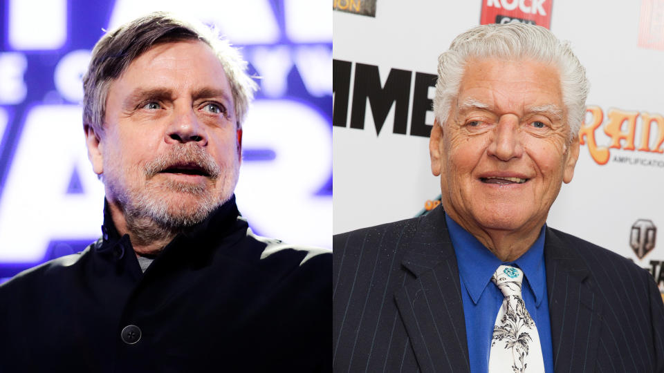 Mark Hamill has offered a heartfelt tribute to Darth Vader performer Dave Prowse. (Credit: Rich Fury/Jo Hale/Getty Images)