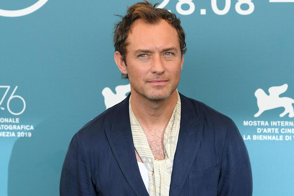 Jude Law at the Venice Film Festival (Getty Images)