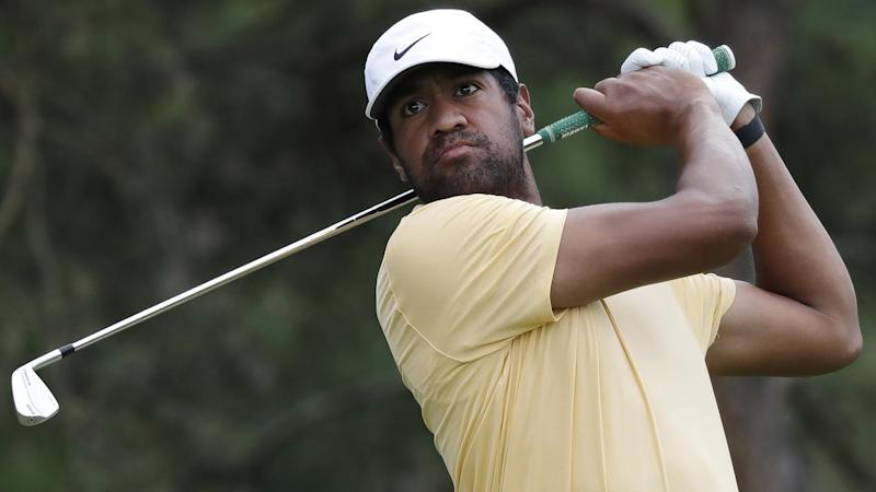 Tony Finau has grabbed an early share of the clubhouse lead at the 3M Open in Minnesota