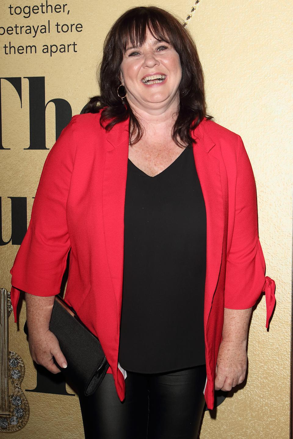 Coleen Nolan at The Thunder Girls book launch party at The Court, Kingly Street. (Photo by Keith Mayhew/SOPA Images/LightRocket via Getty Images)