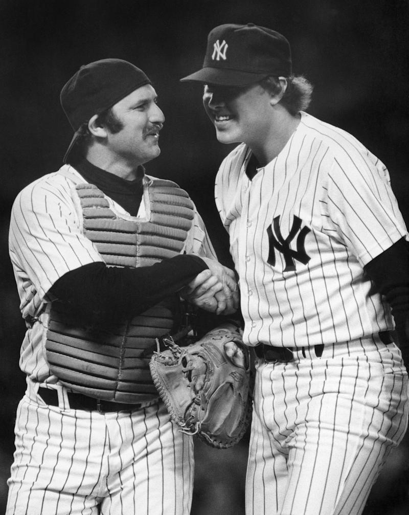 Once Thurman Munson got Goose Gossage to relax, the Yankees were humming. (Getty)