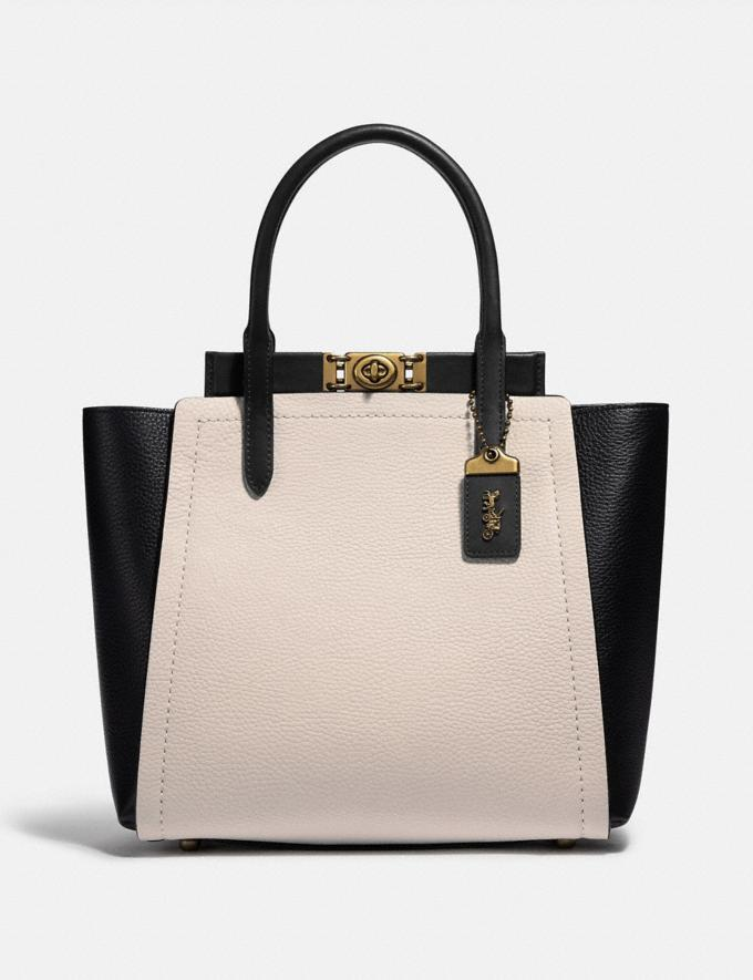 The Troupe Tote In Colorblock - on sale at Coach, $380 (originally $895).