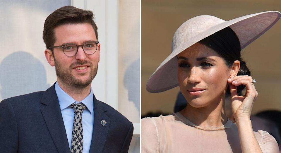 Jason Knauf is said to have made a bullying complaint about the duchess. (PA/Getty)