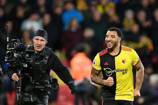 Watford captain Troy Deeney has expressed concern over a return to training (AFP Photo/Justin TALLIS)
