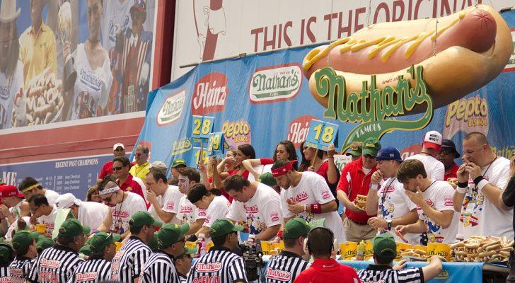 Nathan's Hot Dog Eating Contest 2017