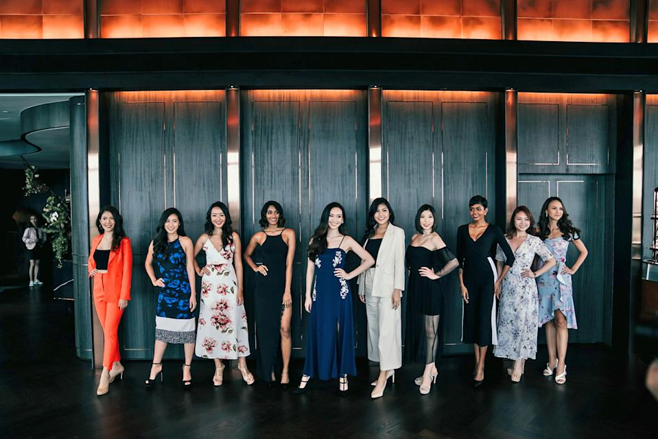 At the recent on press conference Tuesday (1 October,) where the finalists of Miss Universe Singapore 2019 met with members of the press.