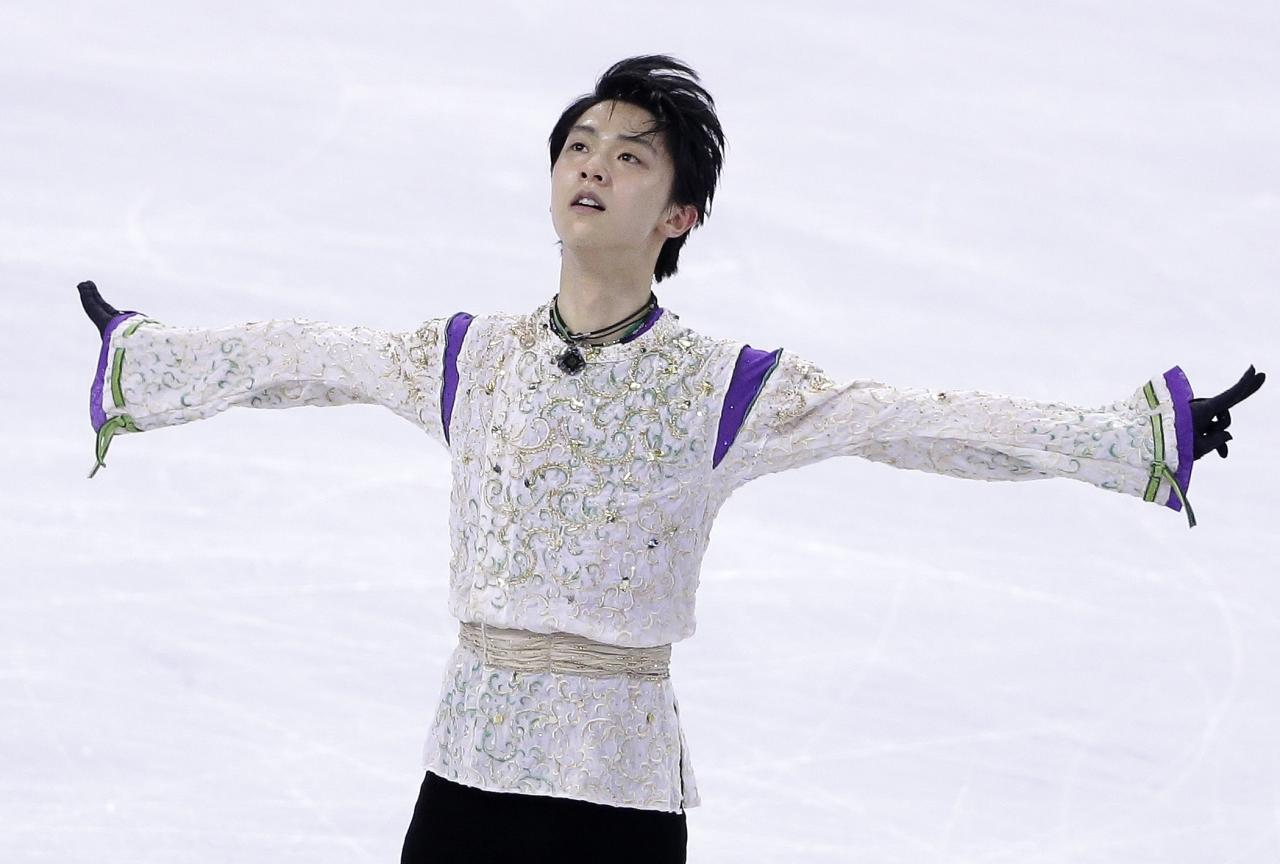 <p>Yuzuru Hanyu is the defending Olympic champion, but suffered an ankle injury in November that could hurt his chances for a medal. He sat out during the team competition to prepare for the men's singles event. </p>