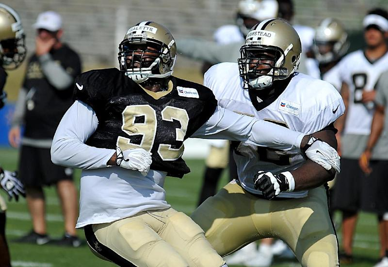 Promise of Saints LT Armstead grows in camp