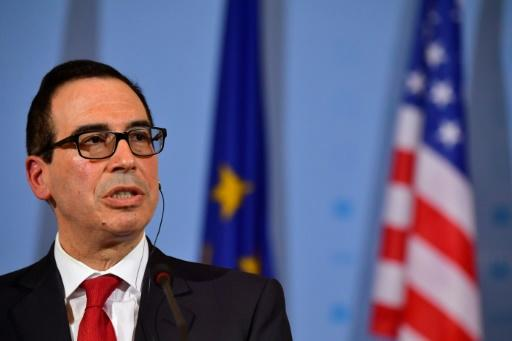 US Treasury's Mnuchin, from Wall St to Hollywood to Baden-Baden