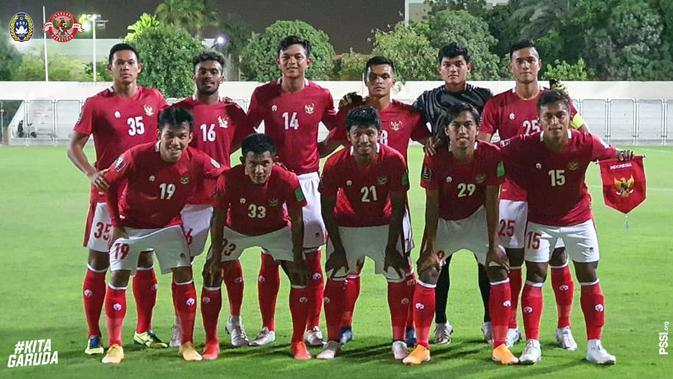 Timnas Indonesia. (Twitter PSSI).
