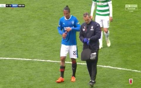 Brendan Rodgers cited humility as a Celtic character trait in the build-up to this match but it was Rangers who were humbled yet again by an emphatic Old Firm derby defeat. Tempting as it is to declare that Celtic strode into the William Hill Scottish Cup final against Motherwell next month, the truth was that their progress was a stroll. For all of Graeme Murty's talk of using the pain of defeat in last month's derby at Ibrox as a motivational tool for this encounter, the Rangers manager was at an utter loss to explain why his players stood off a Celtic side who were visibly gratified to be allowed unwonted time and space to assert their domination. The cost to Murty of this setback will be the loss of his place on the shortlist of candidates when the Ibrox board considers who should be in charge next season but, despite the assertion by the Rangers chairman, Dave King that 'immediate success' is required, it will not be delivered by the club's current squad. Only Celtic exceed them in financial clout in Scotland but a gulf remains and, for as long as the Hoops' advantage is pressed by a manager as driven as Rodgers, Rangers will struggle to emerge as plausible contenders for domestic honours. This occasion presented them with their last chance to interfere with Celtic's push towards a second clean sweep of the Scottish prizes but Murty's players looked timid and apprehensive from the start. His deployment was a 4-2-3-1 match-up with Celtic, but Rangers' advanced midfielder stood off their opposite numbers, a fatal error which permitted Scott Brown, Olivier Ntcham, and Tom Rogic to dominate the hearty of the pitch, with James Forrest and Callum McGregor allowed to roam the flanks, all to the advantage of Moussa Dembele, who demonstrated his predatory qualities after only five minutes, when he volleyed a lofted pass from Ntcham off the post. Bad day: Graeme Murty's tactics did not work Credit: PA In fact, the most significant interruption of Celtic's rhythm was caus