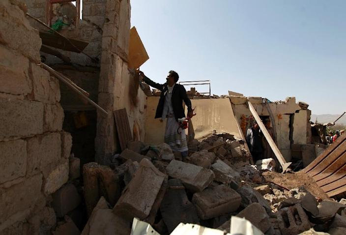 The Saudi-led coalition launched its Yemen air campaign in March 2015 (AFP Photo/Mohammed Huwais)