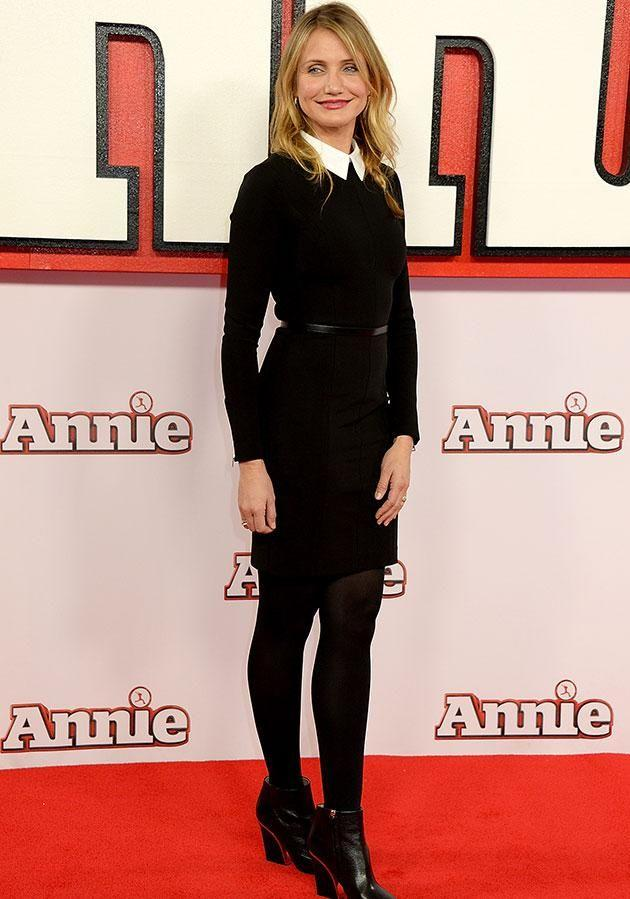 Cam at the premiere of Annie in 2014. Source: Getty