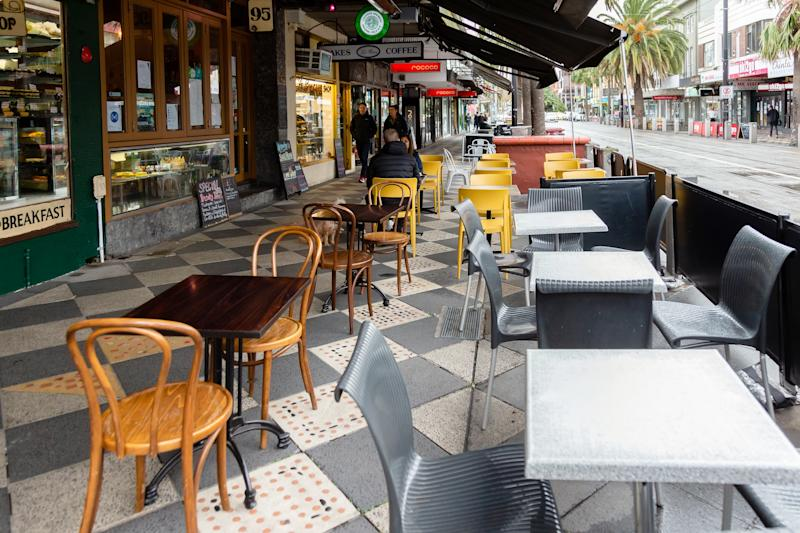 In the coming weeks, Victoria will further ease restrictions, allowing for more people in pubs, restaurants and other venues. Source: Getty Images