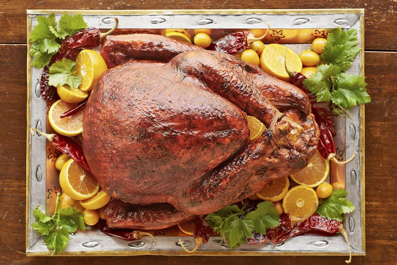 "<p>Whether it's your first time making <a href=""https://www.countryliving.com/food-drinks/g637/thanksgiving-menus/"">Thanksgiving dinner</a> or you've cooked the holiday meal for years, it's time to master the bird this year with these flavorful Thanksgiving turkey recipes. The task of preparing and entire turkey, along with other <a href=""https://www.countryliving.com/food-drinks/g896/thanksgiving-side-dishes/"">side dishes</a> and <a href=""https://www.countryliving.com/food-drinks/g1384/thanksgiving-desserts/"">sweet treats</a>, can definitely be daunting. But don't worry, these new recipes will make the process so much simpler. </p><p>If you're only having a few people over, consider making a turkey breast as opposed to the entire thing. (We bet you'll still have plenty left to make into <a href=""https://www.countryliving.com/food-drinks/g4955/easy-leftover-turkey-recipes/"">tasty leftovers</a> the next day.) If you do choose to go this route, it gets even better for you. There are several turkey breast recipes that can be made right in your <a href=""https://www.countryliving.com/food-drinks/g5040/best-instant-pot-recipes/"">Instant Pot</a>, so you barely have to do any work at all. (And then you can focus on making the <a href=""https://www.countryliving.com/food-drinks/g3787/sweet-potato-casserole/"">sweet potato casserole</a>, <a href=""https://www.countryliving.com/food-drinks/g1547/green-bean-recipes/"">green beans</a>, and a few of your favorite <a href=""https://www.countryliving.com/food-drinks/g1368/thanksgiving-pies/"">pies</a>!) </p><p>And if you're conquering the entire bird, there are plenty of delicious—and fairly easy-to-follow—Thanksgiving turkey recipes for you to make too. The garlic herb butter turkey, the Cajun roasted turkey, or the browned butter sage turkey would all be super zesty options. Your holiday guests will be so impressed that you prepared such an incredible meal this year, and you'll be surprised at how stress-free it can be!<br></p>"