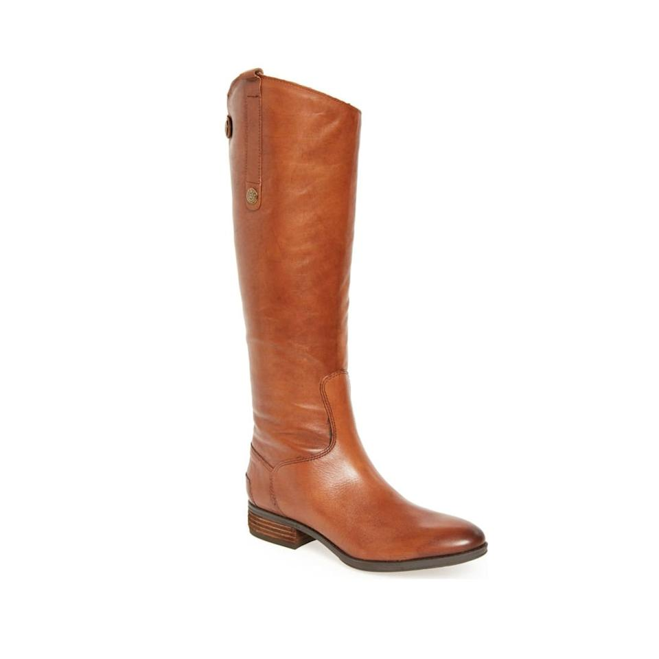 """<p><strong>BUY IT: $149.90;</strong> <strong><em><a href=""""https://click.linksynergy.com/deeplink?id=93xLBvPhAeE&mid=1237&murl=http%3A%2F%2Fshop.nordstrom.com%2Fs%2Fsam-edelman-penny-boot-women%2F3302621&u1=SL%2CRX_1908_Must-HaveFallBootStyles_SamEdelmanPennyBoot%2Csimsj%2CSOU%2CIMA%2C235083%2C201908%2CI"""" target=""""_blank"""">nordstrom.com</a></em></strong></p> <p>These tall, flattering boots are casual yet sophisticated; we love them paired with leggings and a bulky knit sweater or blanket scarf. They come in black, too, if your fall and winter wardrobe skews more black and grey.</p>"""