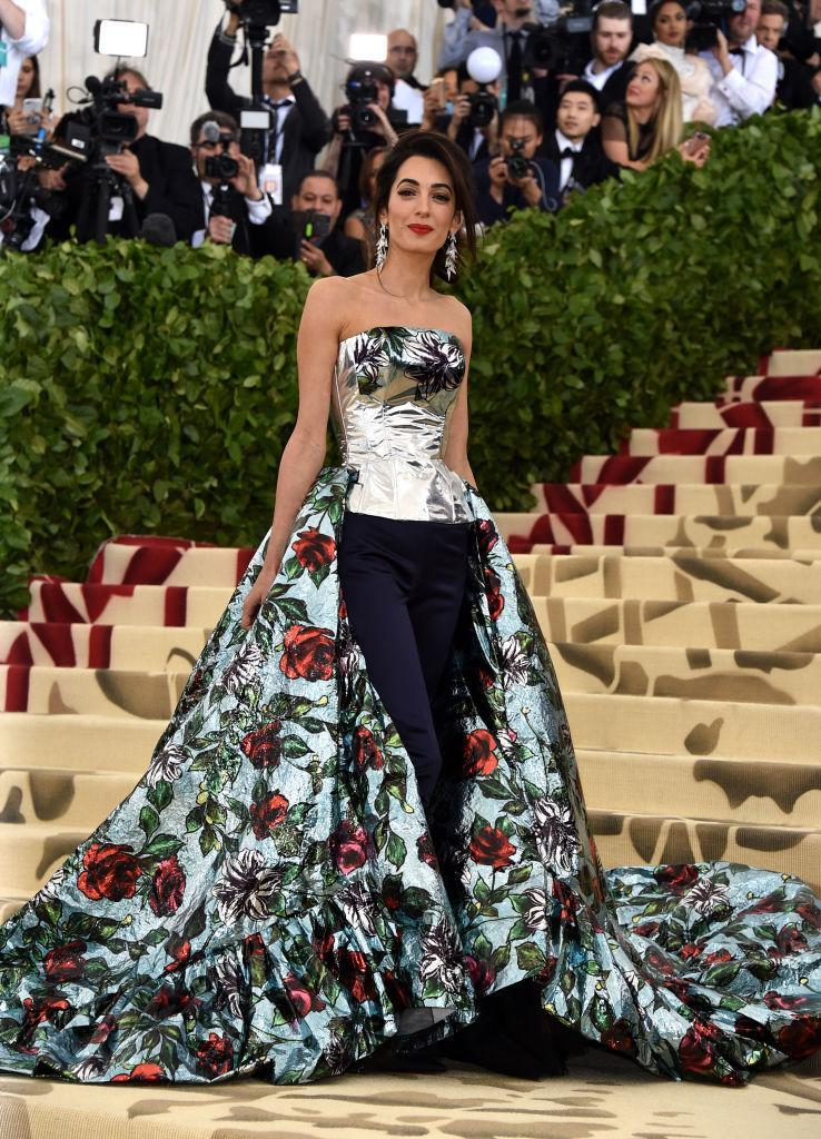 Attends the Heavenly Bodies: Fashion & The Catholic Imagination Costume Institute Gala at The Metropolitan Museum of Art on May 7, 2018 in New York City. (Photo: Getty Images)
