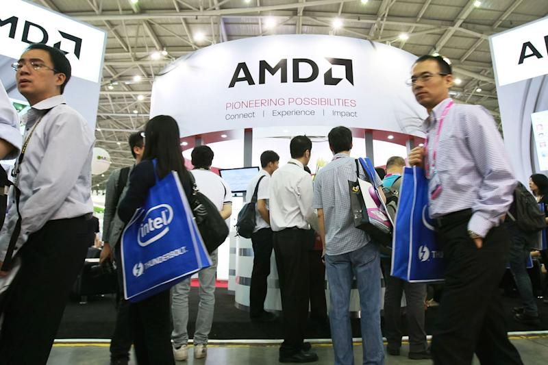Intel pairs with longtime rival AMD to challenge Nvidia